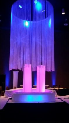 Night club decor by Sash Weddings