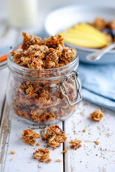 Nutty Muesli Clusters