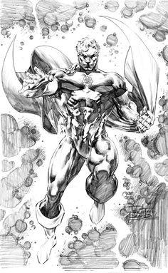 Hyperion of the Squadron Supreme by Philip Tan  Comic Art
