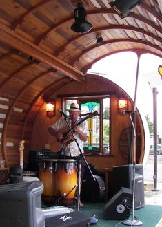Gypsy Wagon Stage, the Backyard Bandstands