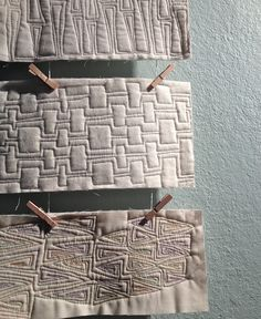 Have you made the plunge into Free-Motion Quilting yet? I was years into quilting before I did. Once you do you'll wonder why you waited. Though I love the look of straight lines there is someth...