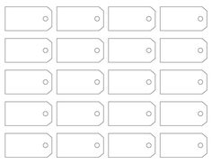 Price Tag Template Address Label Free Labels Survey Printable