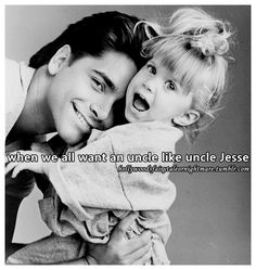 No we all wanted to marry uncle Jesse