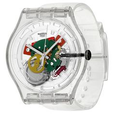 22 Images That Make Nostalgic Swatch Watch - vintagetopia Modern Watches, Casual Watches, Vintage Watches, Luxury Watches, Cool Watches, Rolex Watches, Watches For Men, Vintage Swatch Watch, Plastic Man