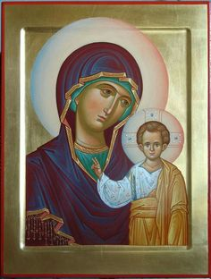 Kazan Icon of the Theotokos / Religious Images, Religious Icons, Religious Art, Blessed Mother Mary, Blessed Virgin Mary, Greek Icons, Christian Mysticism, Russian Icons, Best Icons