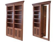 A nifty sight for hidden secret passageways, bookshelves, false mirrors, fireplaces, etc