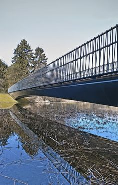 Woven Bridge, Copenhagen Central Park. MRLP