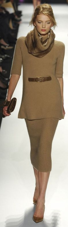 Michael Kors women fashion outfit clothing style apparel @roressclothes closet ideas