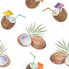 coconut pattern - Google Search