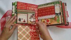Mini Album Navidad DIY SCRAPBOOK