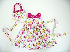 girls 2T dress birthday outfit girls boutique by LizzyBethLane