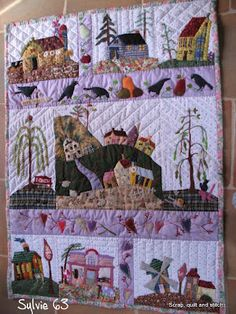 Eastwood Village .... different colors - scrapquiltandstitch