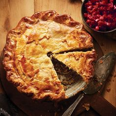 How To Make The Best Tourtière, Ever This impressive but inexpensive meat pie makes the perfect centrepiece at your holiday table. Meat Recipes, Food Processor Recipes, Cooking Recipes, Recipies, Phyllo Recipes, Chicken Recipes, Tortiere Recipe, Canadian Food, Canadian Recipes