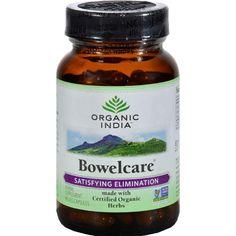 Organic India Bowel Care Formula - 90 Vegetarian Capsules