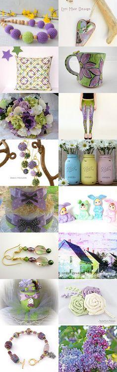 Lavender Spring! by Natasha on Etsy--Pinned with TreasuryPin.com