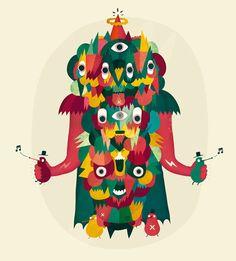 Master of Nuggets by Sami Viljanto, via Behance