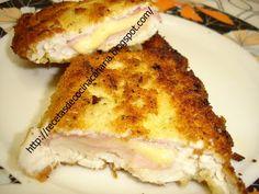 pechuga de pollo rellena,cocina canaria