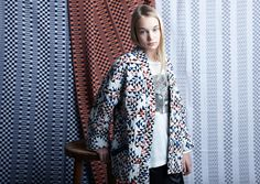 Geometric quilted jackets for all ages at Anne Kurris fir winter 2016