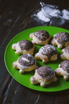 Se vuoi incantare tanto i piccoli di casa quanto i più grandi, per una festa o un pic nic, non farti sfuggire queste tartarughine dolci: adorabili!