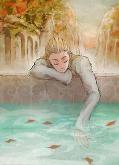 Legolas being fabulous... {------- That comment.