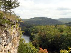 The Current River below the Blair Creek Section of the Ozark Trail. October, 2014.