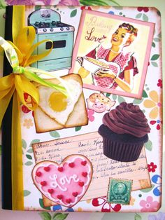 Yummy Retro Kitchen Journal/Recipe Book