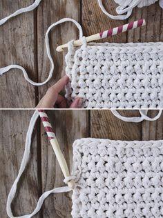 Tunisian Crochet, Learn To Crochet, Crochet Motif, Crochet Doilies, Crochet Cats, Crochet Birds, Crochet Food, Crochet Animals, Knitting Patterns
