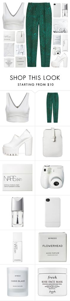 """""""it's buzzcut season anyway"""" by feels-like-snow-in-september ❤ liked on Polyvore featuring J.Crew, Mossimo, NARS Cosmetics, Christian Dior, Incase, Byredo, Fresh, women's clothing, women and female"""