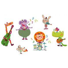 VINILO MUSICAL ANIMALES poth