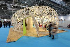 Ongreening pavilion - gh3d - kangaroo - karamba - fabrication