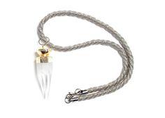 Image of Royal Quartz Spear Necklace