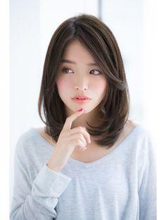 30 Most Popular Short Hairstyles For Women korean-female-short-haircut-korean-hairstyle - Hairstyles Medium Hair Cuts, Short Hair Cuts, Short Hair Styles, Short Hair Korean Style, Pixie Cuts, Short Pixie, Japanese Short Hair, Short Bobs, Short Layers