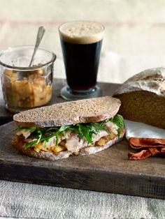 I just love a good sandwich.....I believe there is an art in making a good one....