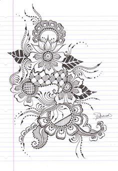 Henna Design 5 by iLoveKyu.deviantart.com