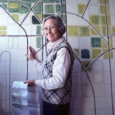 Maria Keil - tile artist, Portugal