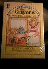 The Ginghams Paper Doll Becky's Playroom