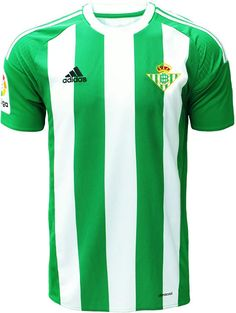 The new Betis 16-17 kits introduce clean designs for the Andalusian club, made by Adidas.