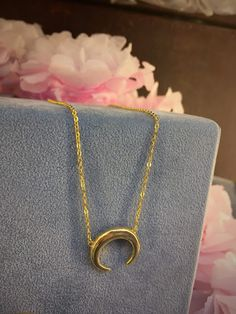 Colgante de plata dorada para el Día de la Madre