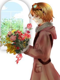 茶花伝 - Hetalia - Canada (Matthew Williams)