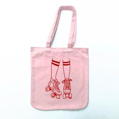 Roller Disco Tote Bag