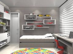 Resultado de imagem para quartos de meninos planejados