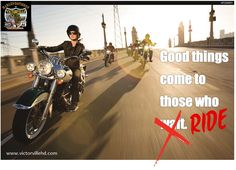 Good things come to those who RIDE. #harleydavidson www.victorvillehd.com