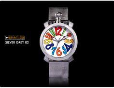 Time100 Женские Часы сетчатый ремешок из Нержавеющей Стали Большой Циферблат Gaga Часы Кварцевые Часы…