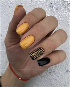 Charming Spring Nail Art Designs Ideas To Try In 2019 - - Charming Spring Nail Art Designs Ideas To Try In 2019 – Best Picture For spring nails For Y - Yellow Nails Design, Yellow Nail Art, Green Nails, Black Nails, Leopard Nail Art, Blue Nail, Acrylic Nail Designs, Nail Art Designs, Acrylic Nails