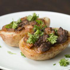 Beef Stroganoff Potatoes Recipe by Tasty