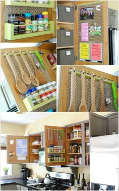 10 Clever Ideas To Organize Inside Your Kitchen Cabinets Small House Diy