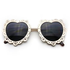 Womens Metal Boho Cute Gold Heart Shape Sunglasses ($8.95) ❤ liked on Polyvore featuring accessories, eyewear, sunglasses, glasses, oculos, gold heart shaped sunglasses, gold glasses, heart glasses, hippie glasses and hippy sunglasses