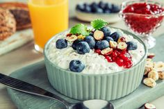 Cottage Cheese, Overnight Oats, Health Fitness, Food And Drink, Favorite Recipes, Lunch, Cookies, Breakfast, Desserts