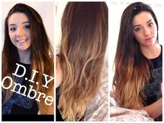 ▶ ABI.....DIY ombre at home   Dip Dye tutorial and demo - YouTube