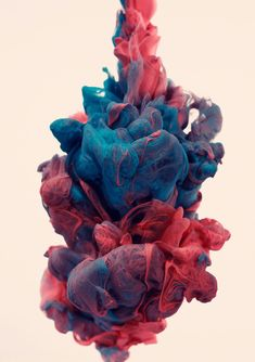 High-speed photography of ink and water by Alberto Seveso